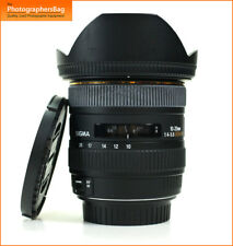 Sigma 10-20mm Ultra Wide DC HSM Autofokus Zoom Objektiv für Canon EOS + Free UK Post