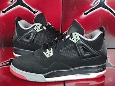 Nike Air Jordan Shoe 2008 CDP 4 IV BRED Size 5.5Y GS Original Box Authentic!