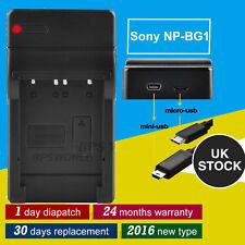 NP-BG1 NP-FG1 Battery Charger For Sony CyberShot DSC-W50 DSC-W55 DSC-W70 DSC-W80