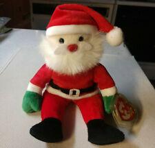 1998 Ty Beanie Baby 'Santa' Brand New w/ Heart Protector !!