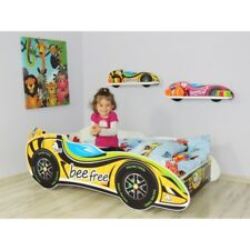 Racing F1 Car Bed Children Boys Girls Bed with MATTRESS 160x80cm + FREE GIFT