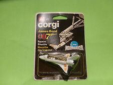 CORGI TOYS 41 SPACE SHUTTLE - MOONRAKER 007 JB - RARE SELTEN - UNOPENED BLISTER