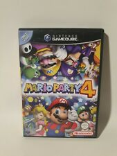 MARIO PARTY 4 EXCELLENT CONDITION GAMECUBE