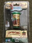 Hasbro SI Worlds Smallest Lincoln Logs 49 pieces with lid and container New