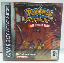 POKEMON: MYSTERY DUNGEON RED RESCUE TEAM NINTENDO GAME BOY ADVANCE NEW SEALED