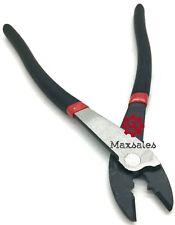 9 12 Electrical Crimping Plier Hand Tool Crimper Electricians Pliers