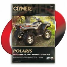 2007-2009 Polaris Sportsman 800 EFI X2 Repair Manual Clymer M366 Service Shop