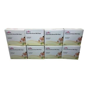 SPECTRA Disposable Breast Milk Bags 8 Boxes 30 Ct. Each, 6.76 oz. Temp Sensor