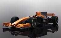 SCALEXTRIC F1 Slot Car Fernando Alonso McLaren Honda MCL32 Car - 2017 C3956