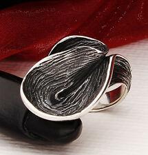 Echter 925 Silber  Damen RING oxidiert, inkl. Schmucketui, TOP !!!