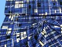 Viskose-Jersey  grafisches Muster, 150 cm breit,  Meterw, ab 0,5 m  (€ 10,00/qm)