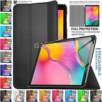"""Magnetic Stand For Samsung Galaxy Tab A 10.1"""" Smart Leather Flip Case Cover 2019"""