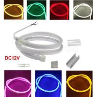 LED Neon Rope Light Waterproof Flexible Indoor/Outdoor LED Colour Lighting DC12V