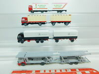 BO806-0,5# 4x Wiking H0/1:87 LKW Mercedes/MB: Blumen aus Holland etc, NEUW