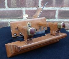 Vintage J Moseley & Sons Moulding Plough Plane & Depth Stop Old Tool