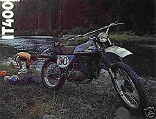 1976 Yamaha IT 400 Plastic Kit Blue