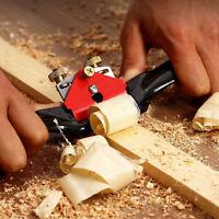 Adjustable Wood Craft Metal Blade Spoke Shave Hand Plane Woodworking Tool