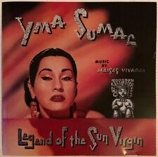 YMA SUMAC LEGEND OF THE SUN VIRGIN CD RIGHT STUFF USA 1996 PRESS NEAR MINT