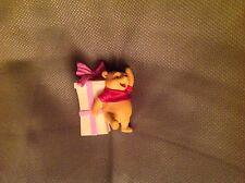 Mini Winnie the Pooh figurine poohray for birthdays eegg 2001 very rare