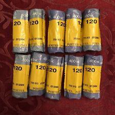 Kodak Portra 400NC Professional 120 Color Negative Film Natural Color 10 Rolls
