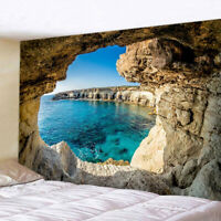 Ocean Hole Printed Wall Hanging Tapestry Blanket Beach Towel Home Decor Reliable