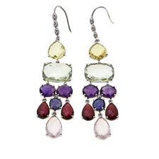 Colleen Lopez 47.02ctw Sterling Silver Chandelier Earrings HSN $559