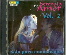 Serenata De Amor Solo Para Enamorados  Volume 2 Latin Music CD New