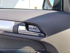 Opel Astra H Türgriff Mulde Edelstahl Blende OPC Caravan GTC Schriftzug Z017