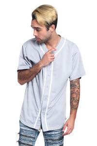 Men's Classic Raglan Plain Baseball Jersey Tee Uniform T-Shirts S~5XL  BJ42-KK6B