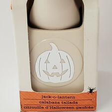 Martha Stewart JACK O LANTERN Double Craft Punch Halloween New Pumpkin