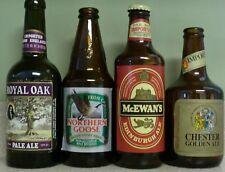 Vtg Beer Bottle Lot ~ Royal Oak ~ Northern Goose ~ McEwan's ~ Chester