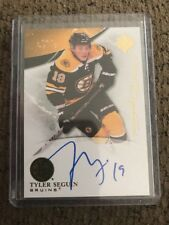 10/11 UD Ultimate Collection Signatures Rc #US-TS Tyler Seguin Boston Bruins