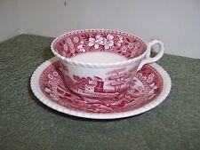 Copeland Spode Tower Pink  Cup & Saucer
