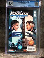 Ultimate Fantastic Four 21 9/05 Marvel Comics Variant Edition CGC 9.4