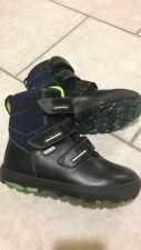 Bartek Shoes Leather Ankle Boots Black Boy 33/2us New