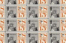 #C63 Liberty sheet of 50 - MNH
