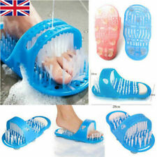 Bathroom Shower Feet Brush Foot Cleaning Slipper Washer Bath Scrubber Massager