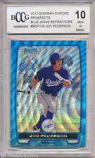 2012 Bowman Chrome Blue Wave Ref Joc Pederson RC Rookie BGS/BCCG 10 LA Dodgers