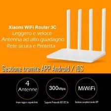 Router WiFi potente 4 antenne con LAN e WAN Router Wireless 2,4 GHz - 300 Mbps
