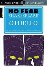 No Fear Shakespeare : Othello SparkNotes-Sc/*Brand New Condition.