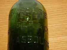 ancien vintage BOUTEILLE brasserie GRUBER de STRASBOURG alsace BIERE bier bottle
