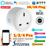 Smart WIFI Plug Socket Power Switch APP Remote Control Timer Home Automation