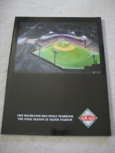 Rochester Red Wings 1995 Official Team Yearbook-NEW