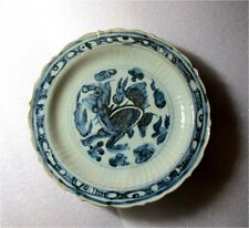 Antique Chinese Blue & white Porcelain Bowl Ming Dynasty Zhengde period 1500'S