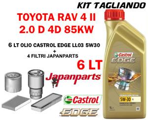 KIT TAGLIANDO TOYOTA RAV4 2.0D-4D JAPANPARTS