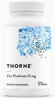 THORNE Research Zink Zinkpicolinat - 15mg 60 Kapseln - VERSAND WELTWEIT