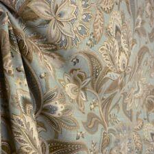Valdosta Mist Blue Floral Fabric