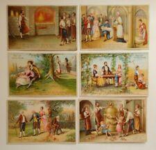 6 Kaufmannsbilder Serie Das Lied von der Glocke von ca. 1910