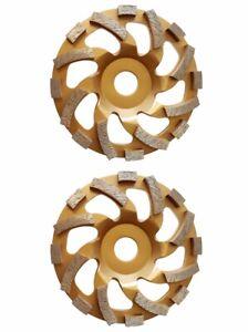 DIAKTIV® 2 ER- PACK - DIAMANT - SCHLEIFTELLER - SCHLEIFTOPF Ø 125 mm