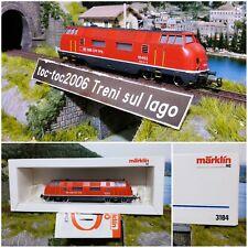 MÄRKLIN / MARKLIN 3184 SBB CFF LOCOMOTIVA DIESEL 18462 AC 1:87 H0 HO